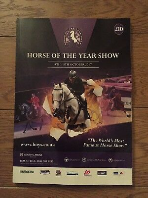 Horse Of The Year Programme 2017