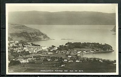 Postcard : Isle of Skye aerial view Portree  RP