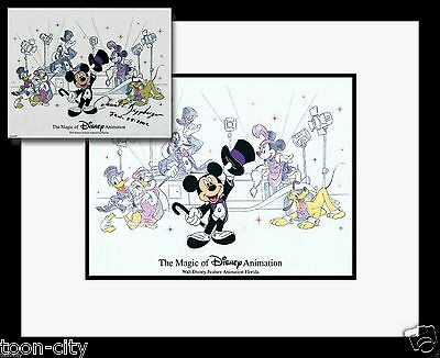BRAND NEW FRAME Mickey Mouse Disney Cel MGM Studio hand Painted 2003 Retired