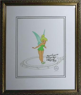 1st Tinker Bell Sericel Disney ever Made DELUXE EDITION Margaret Kerry Signed
