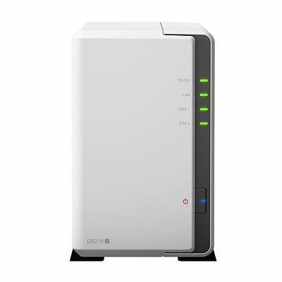 Synology DS216J/12TB-RED -  DS216j/12TB-RED 2 Bay NAS