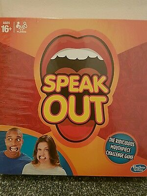 2016 Brand New Speak Out Board games Party Game Xmas gift Christmas Toys