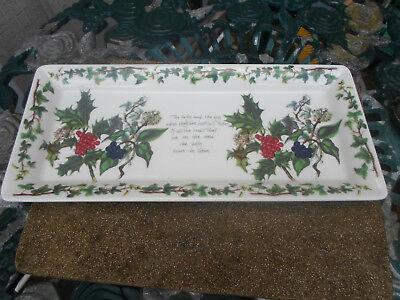 Portmeirion The Holly and the Ivy Rectangular Serving Plate