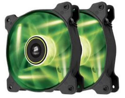 Corsair  SP120 Twin Pack Green LED Fans (CO-9050032-WW)