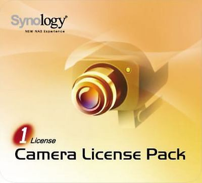 Synology LICENSE-PACK-1 -  1x Camera Licence