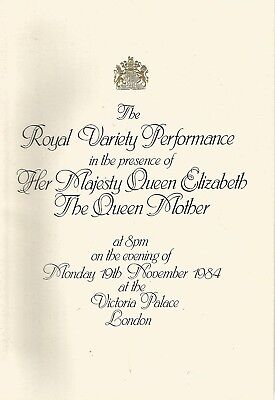 "1980 Royal Variety Programme* Paul Daniels*ronnie Corbett*""comedy Tonight"""