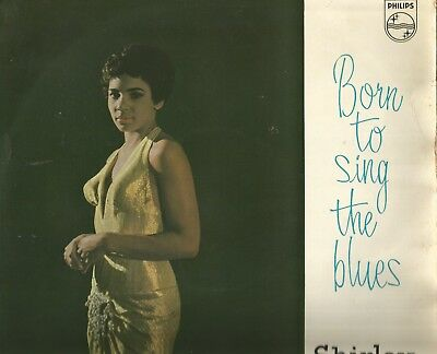 """1958 Philips 10"""" Lp * Shirley Bassey * """"born To Sing The Blues"""""""
