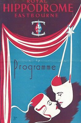 1950 Eastbourne Variety * Robert Harbin & Company * (The Real Magician )