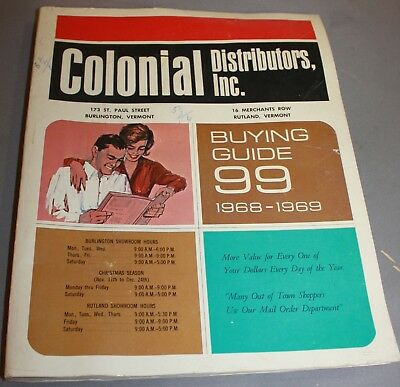 Vintage Colonial Distributors Buying Guide 1968-69 Catalog