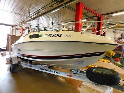 18' Stingray 195SRv Mercruiser In/Outboard Continental Trailer T1269835