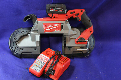 Milwaukee 2729-29 18v Cordless Portable Deep Cut Band Saw w/ Battery and Charger