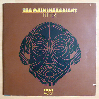 LP: THE MAIN INGREDIENT - Bitter Sweet - RCA Records