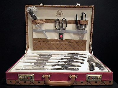New - Royal Germany 24 Piece Knife / Cutlery Set Including Case - Retail $995