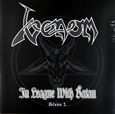 Venom - In League With Satan Vol. 2 (Limited 2 x  Red Vinyl LP) New & Sealed