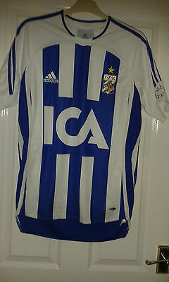 Mens Football Shirt - IFK Goteborg Gothenburg - Home 2011 - Adidas - Sweden RARE