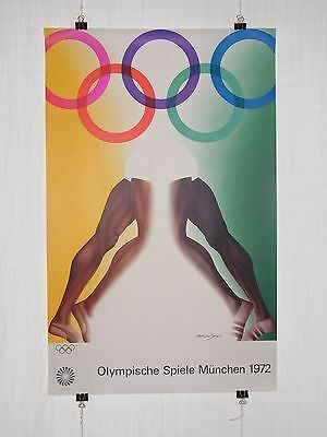 poster - Allen Jones - olympic games 1972 Munich München - original vintage