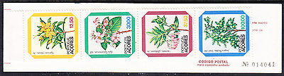 Portuguese Azores 1982 Flowers  Booklet - Mint