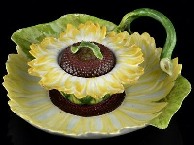 EXTREMELY RARE c1755 ENGLISH CHELSEA PORCELAIN SUNFLOWER TUREEN & TRAY SOTHEBY'S