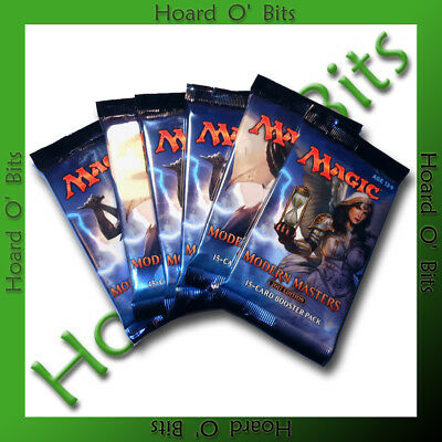 MTG Magic The Gathering Modern Masters -  6x Sealed Booster Packs