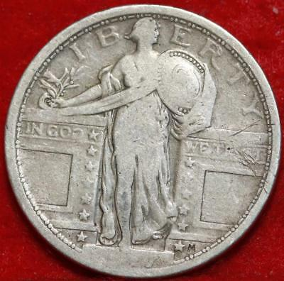 1917 Philadelphia Mint Silver Standing Liberty Quarter Free Shipping