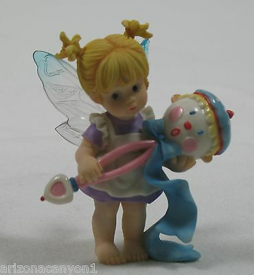My Little Kitchen Fairies Little Rattle Figurine 119277 Retired New in Box w/Tag
