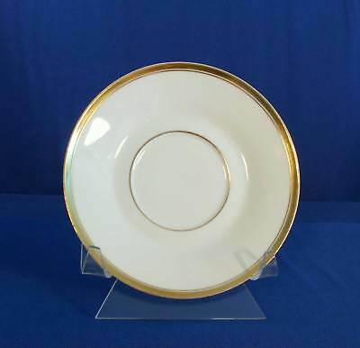 Silesia SIL29 Saucer White Gold Trim OHME Germany bfe1831