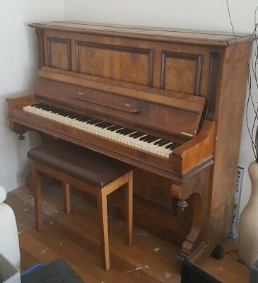 wertheim antique upright piano