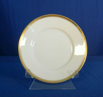 Silesia SIL29 Bread and Butter Plate White Gold Trim OHME Germany bfe1832