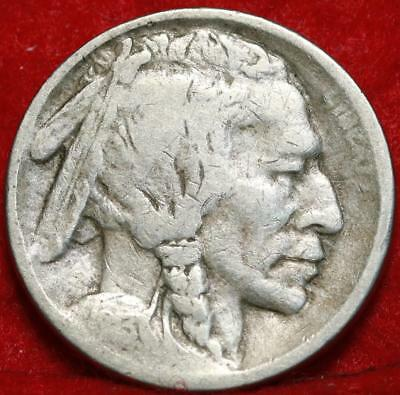 1913-S San Francisco Mint Buffalo Nickel Free Shipping