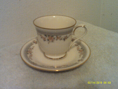 "Vintage ""nortake..fairview""  Fine China Japanese Cup & Saucer Gold Trimmed"