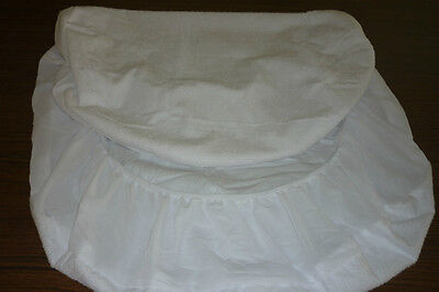 Bassinet Protector  - Suit Chicco Next 2 Me ( TOWELING WITH PVC )