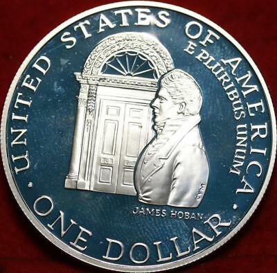 Uncirculated 1992 White House Silver Dollar Proof Free S/H