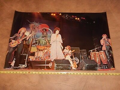 Vintage, Original 1976 Jefferson Starship  Poster Head Shop  Jefferson Airplane