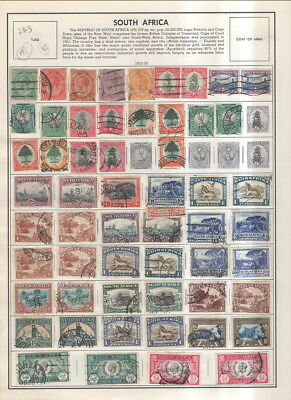 South Africa On Album Pages 1913 To 1983!