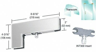 Brushed Stainless Sidelite Transom Patch With 1NT300 Insert