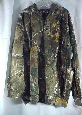 NWT Mens 2XL Realtree Xtra pattern Caliber fullzip camo hoodie for hunters