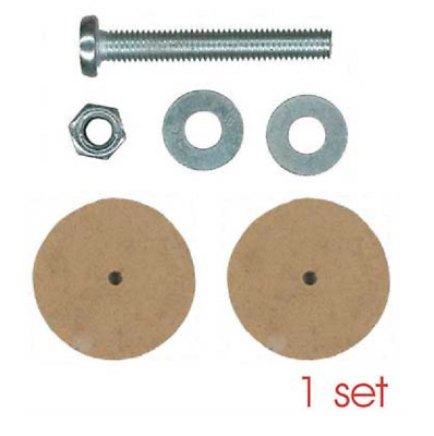 55mm Wooden Animal Bolt Joints - 5 sets