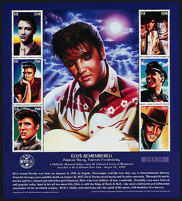Micronesia 268 MNH Elvis Presley Remembered, Music
