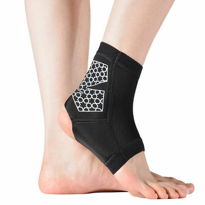RockBros Basketball Tennis Sport Ankle Support Strap Brace Protector 1pc