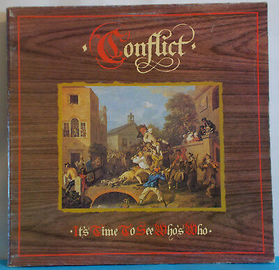 CONFLICT - It's Time To See Who's Who - Original UK LP - Anarcho Punk