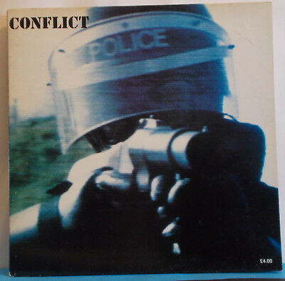 CONFLICT - The Ungovernable Force - Original UK LP - Anarcho Punk Mortarhate