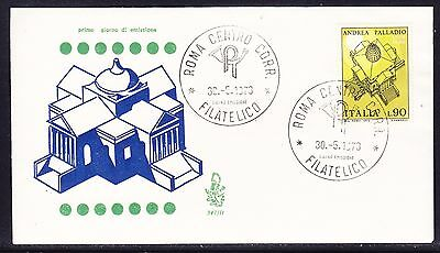 "Italy 1973 Andrea Palladio ""Venetian""  First Day Cover addressed"