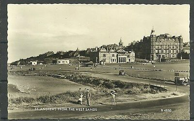Postcard : St Andrews Fife the Old Course Golf Club House & Hotel
