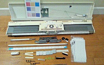Knitking PC BULKY Knitting Machine  w/ accessories - Brother 260
