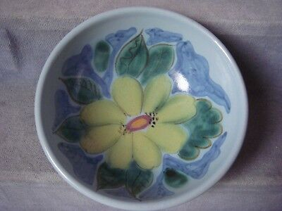 BUCHAN Portobello SCOTTISH STONEWARE Handpainted BOWL Edinburgh Pattern