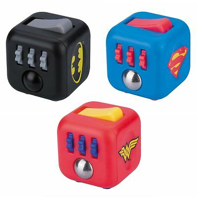 Official DC Comics Superman / Batman / Wonder Woman Zuru Fidget Cube