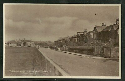 Postcard : Prestwick Ayrshire the Golf Club House in Station Road RP