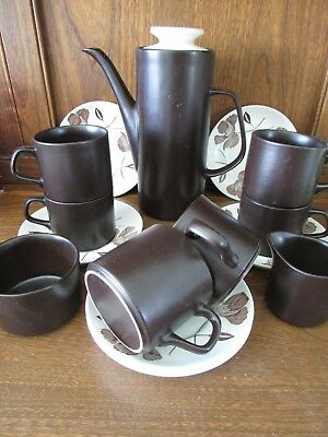 J&G Meakin~Maidstone~15 piece Coffee/Espresso Set