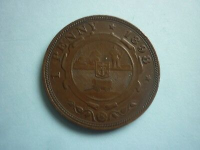 South Africa (Zar) - Good Collectable Bronze Kruger 1898 Penny