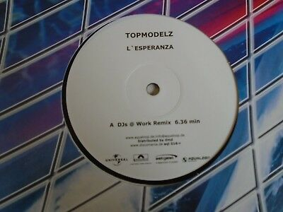 "TOPMODELZ ~ L'Esperanza REMIX ~ 12"" Single"